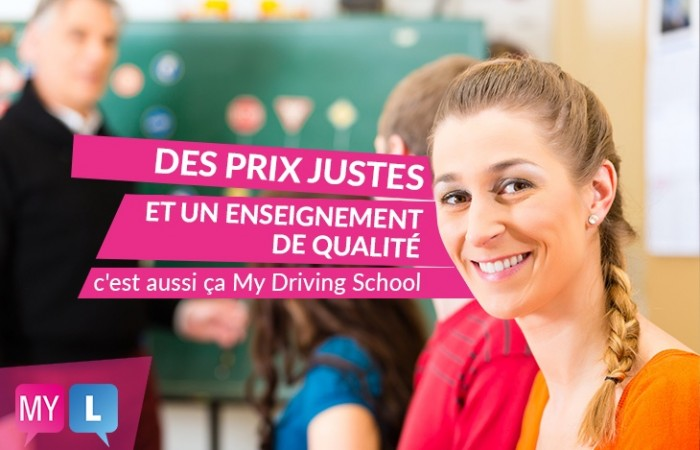 Tous les tarifs de My Driving School