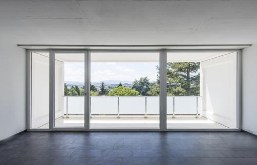 Matériaux de porte-fenêtre Tryba (bois, aluminium et PVC)