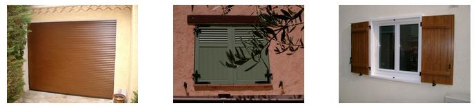 Sollicitez Les Menuiseries de la Vallée pour des volets à Toulon
