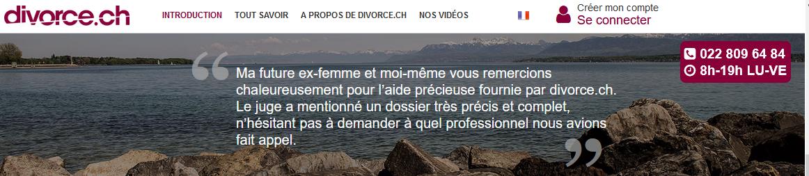 Divorce.ch vous aide à remplir correctement votre convention de divorce suisse!