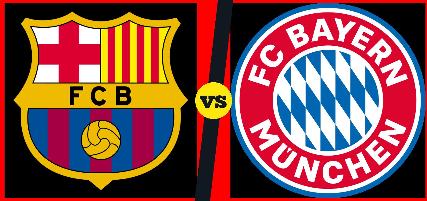 Pronostic Barcelona  Bayern München du 14/09 au Camp Nou